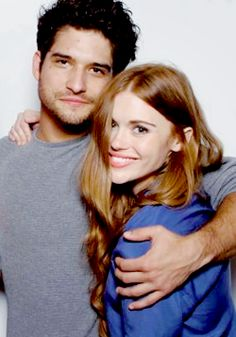 Tyler Posey and Holland Roden at ATX festival