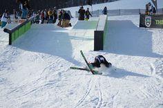 Jack snaps a ski at Rails to Riches #R2R at #Killington '11