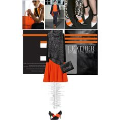 """""""Orange Exploration 8."""" by stylected on Polyvore"""