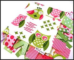 The Girly Girl Owl fabric was used by MyRaggyObsession, on Etsy, for some of her blankets.