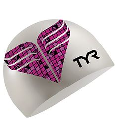 TYR Pink Silicone Cap~Breast Cancer Awareness