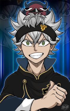 I'm curious if I should watch Black Clover? I originally didn't want to because a lot of people were saying it was a bad show when it first came out. But I saw one of its openings and it was so hype! Anime Echii, Hot Anime Boy, Anime Guys, Anime Art, Black Clover Asta, Black Clover Anime, Chibi, Black Cover, Blue Exorcist