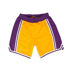 4d2860201dd Authentic Shorts Los Angeles Lakers - Shop Mitchell & Ness NBA Bottoms and  Shorts