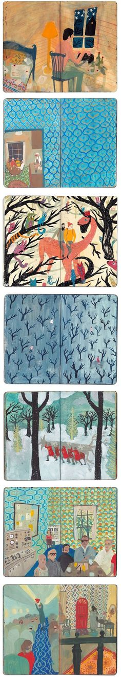 Nicholas Stevenson - sketchbooks