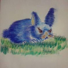 """""""Rumo a Páscoa!  #drawing #draw #desenho #art #colors #cores #pastelseco #pastelcolors #pastel…"""""""