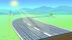 Carreteras solares, nueva propuesta para captar energía limpia y permitir la recarga en marcha de vehículos eléctricos