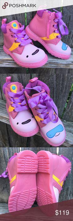 3ef38ffd0566 Dr Martens Toddler boots 10 Princess bubblegum Dr. Martens toddler girl  boots Size 10 US