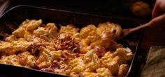 Cheesy Bacon Roasted Cauliflower