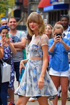 Taylor Swift sighting on July 30, 2014 in New York City.