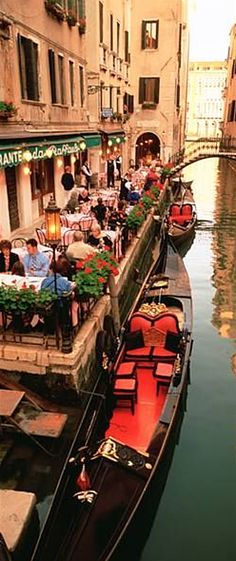 Venice. Great spot to dine. #travel #Italy