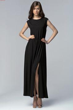 Sukienka z rozcięciem. Zapraszamy do sklepu internetowego Eve Polka.