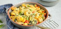 Gnocchi ovenschotel met kip en spinazie - Lekker en Simpel