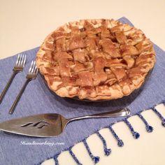 Handiworking: The Best Apple Pie Ever :: Recipe by Audrey's Apron