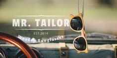 #spreadthewood Mr. Tailor sunglasses.