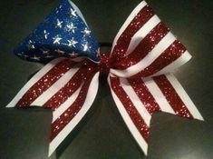 Love American theme bow