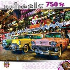 Wheels - Three Beauties - 750 Piece Jigsaw Puzzle