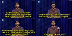"""On Diwali.   15 Of The Funniest Moments From The First Season Of All India Bakchod's """"On Air With AIB"""""""