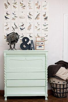 Furniture paint color inspiration.