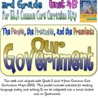 Following the Common Core Curriculum Map for Third Grade Unit 4 from Commoncore.org, this two week unit focuses on the theme Our Government (Preamb...