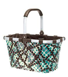 Designer Housewares from Nicole Jane Home: Reisenthel Carrybag (Raster Dots)