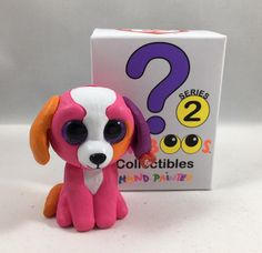 b80fdc9a920 Details about TY Beanie Boos Mini Boo SERIES 2 Collectible Figure PRECIOUS  the Dog (2 inch)