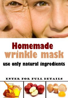A homemade facial mask will not make wrinkles disappear, but some can temporarily tighten the skin and give more volume, so that reduce the appearance of wrinkles and fine lines. Prepare any of the…