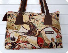 MATZKE Leder Tasche Bag Schultertasche Shopper Beutel Leder / Stoff Gobelin in Kleidung & Accessoires, Damentaschen | eBay