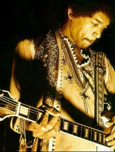 Jimi in the moment!