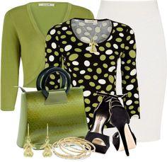 """Green Bag II"" by brendariley-1 on Polyvore"