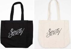 Signature Tote Bag by Sailor Jerry