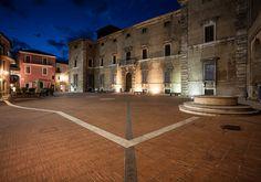 Piazza Federico Cesi - Acquasparta - Umbria - Italy