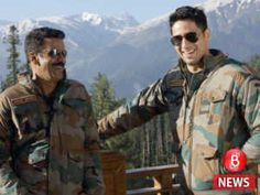 The dashing army officersSidharth Malhotra and Manoj Bajpayeeshare a laugh on Aiyaary sets