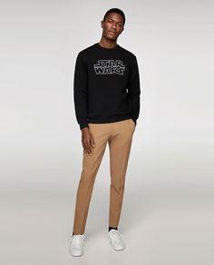 Buy online Sweatshirts - Star wars® sweatshirt from Zara India Peanuts, Star Wars Sweatshirt, Cut Sweatshirts, Zara United Kingdom, Snoopy, Zara New, Sweater Shirt, Normcore, Sweatpants