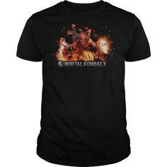 Mortal Kombat X Scorpion Flames