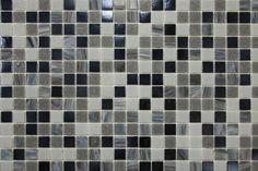 "Brilliance 3/4"" x 3/4"" - Blue Steel Mosaic"