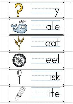 FREE WH Digraph word work unit. 84 pages in total. A page from the unit: write and wipe word work cards