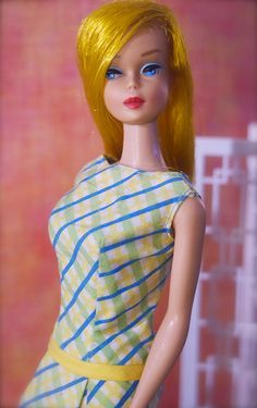 Mattel introduced Color Magic Barbie in 1966.