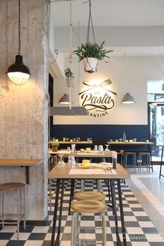 De Pasta Kantine in Rotterdam opened its doors in january and is the place to go for a quick pasta.