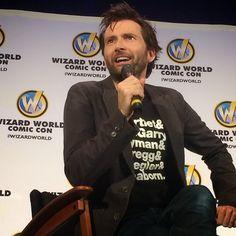 VIDEOS: David Tennant's Second Wizard World Comic Con Panel | David Tennant News From www.david-tennant.com