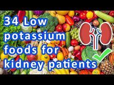 Low potassium foods for kidney patients Low Potassium Meats, Low Phosphorus Foods, Low Potassium Recipes, High Potassium, Food For Kidney Health, Healthy Kidney Diet, Healthy Kidneys, Kidney Foods, Top Alkaline Foods