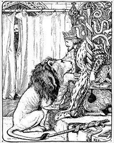 The Twelve Huntsman - The Green Fairy Book by Andrew Lang, 1892