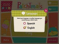 Shapes and colors: Languages - Bilingual app for babies and kids: English and Spanish // Formas y colores: Idiomas - Aplicación bilingüe para bebés y niños: Español e Inglés