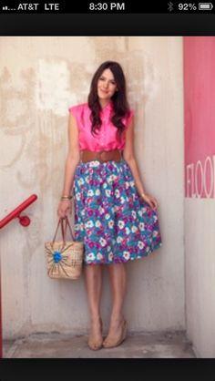 A-line skirt idea