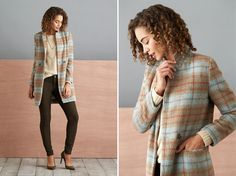 Plaid doesn't have to be casual— it can play dress up, too! If you want to try the trend, but aren't into bright, saturated colors, ask your Stylist for a muted color palette—it's an unexpected twist on this pattern.