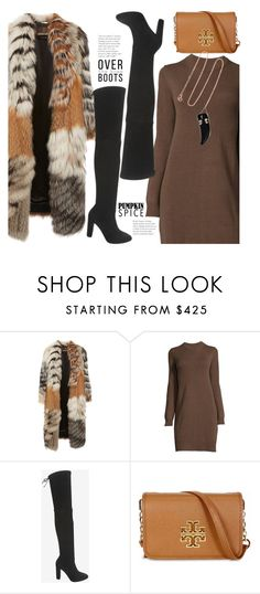 """Winter Warmers"" by hattie4palmerstone ❤ liked on Polyvore featuring Roberto Cavalli, Jean-Michel Cazabat, Tory Burch and Pascale Monvoisin"