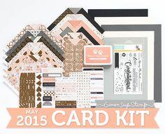 Simon Says Stamp May 2015 Card Kit.