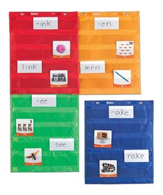 Love this Learning Resources Magnetic Pocket Chart Square - Set of Four by Learning Resources on #zulily! #zulilyfinds