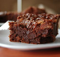 Caramel Bacon Brownies