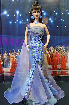 Barbie Miss, Barbie And Ken, Costume Collection, Barbie Collection, Barbie Wedding, Beautiful Barbie Dolls, Barbie World, Barbie Friends, Ethnic Fashion