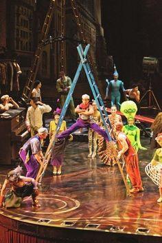 Don't miss Cirque du Soleil Iris